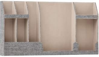 Pottery Barn Teen No Nails Fabric Wall Organizer, Northfield Gray