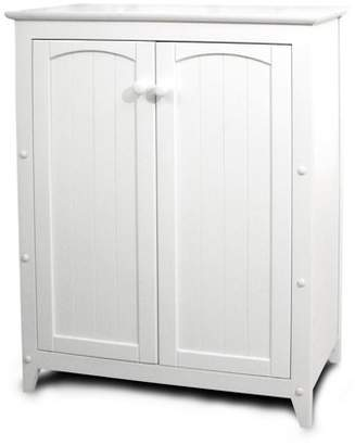 Catskill Craft Catskill White All-Purpose Kitchen Storage Cabinet with Double Doors