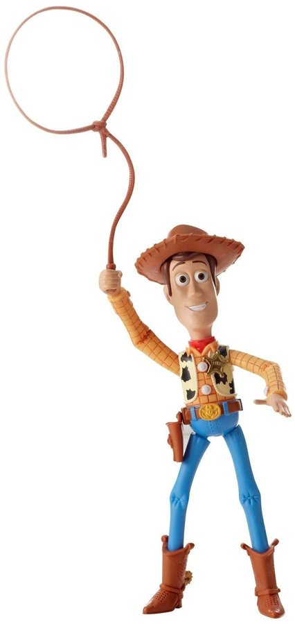 Toy Story Disney/Pixar Deluxe Round Em Up Sheriff Woody Figure