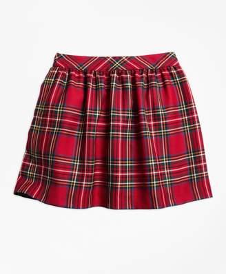 Brooks Brothers (ブルックス ブラザーズ) - GIRLS ウールツイル タータン ギャザースカート