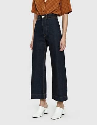 Jesse Kamm Sailor Pant in Dark Blue American Denim