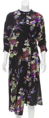 Isabel Marant Silk Floral Dress