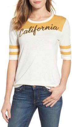 Women's Lucky Brand California Football Tee $39.50 thestylecure.com