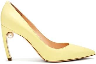 Nicholas Kirkwood Mira pearl-heeled leather pumps