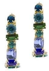Saachi Dynasty Crystal Hoop Earrings