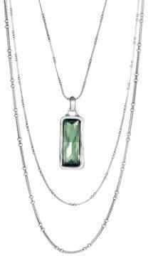 Uno de 50 Rhinestone Pendant Necklace