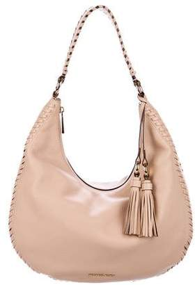 Michael Kors Michael Bennet Leather Hobo