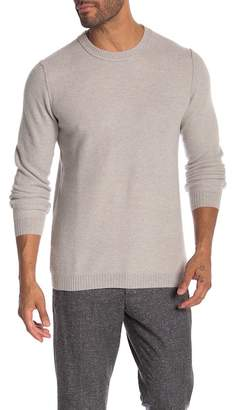 Autumn Cashmere Honeycomb Crew Neck Sweater