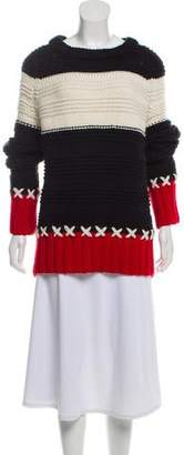 Smythe x Augden Alpaca-Blend Crew Neck Sweater w/ Tags