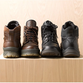 Ecco 'Track 5' Waterproof Moc Toe Boot