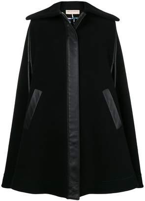 Emilio Pucci zipped flared cape