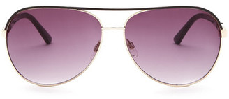Kenneth Cole Reaction Women's Aviator Sunglasses $48 thestylecure.com