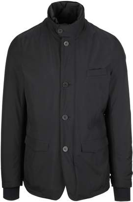 Herno Buttoned Collar Jacket