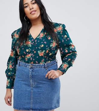 Influence Plus floral blouse