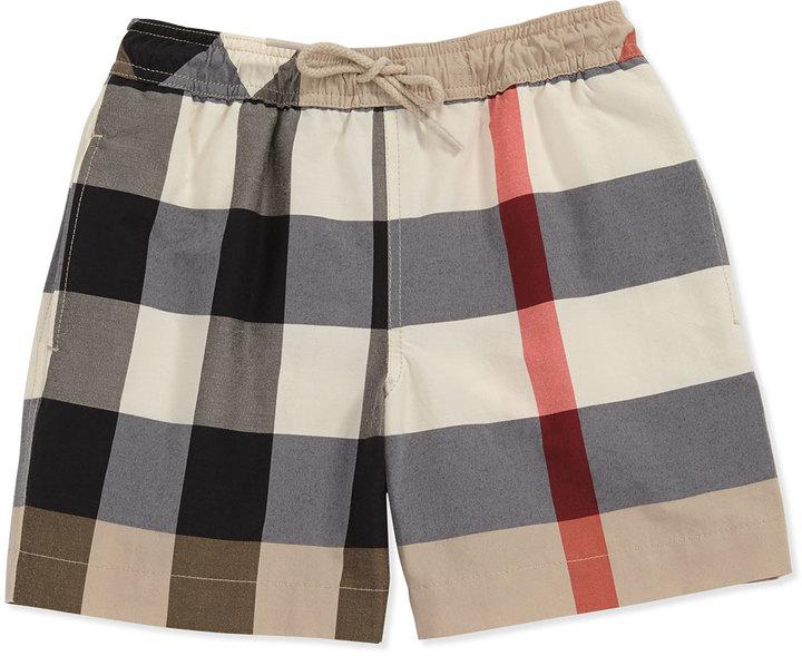 Burberry Mini Check Swim Shorts