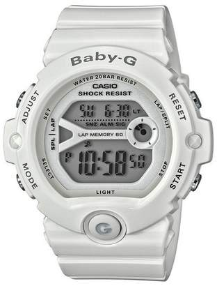 Baby-G Casio Ladies' White Shock Resistant Watch