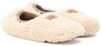 UGG Birche fur ballerina slippers