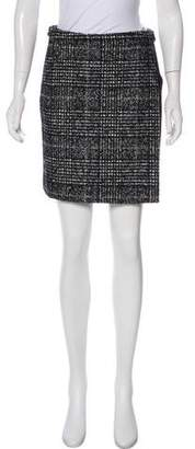 Akris Punto Wool Mini Skirt