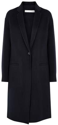 Vince Midnight Blue Wool-blend Coat