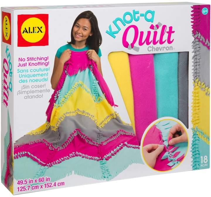 Alex ALEX Toys Craft Knot-A-Quilt Chevron Kit
