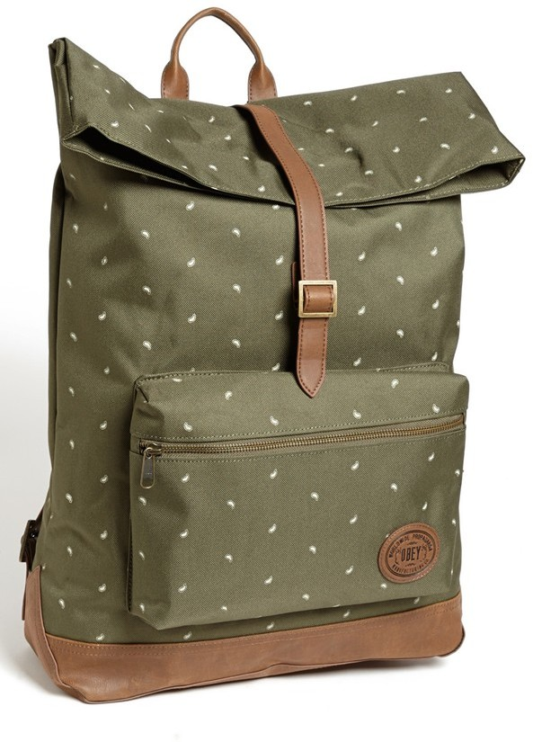 Obey 'Ballast' Roll Top Backpack