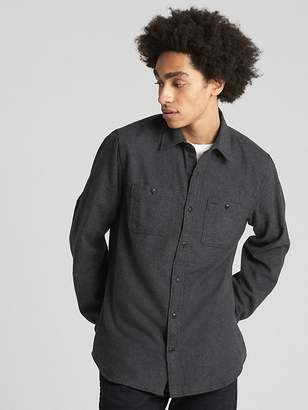 Gap Standard Fit Flannel Shirt