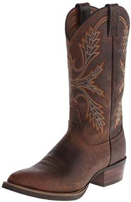 """Justin Boots Men's Silver Collection 13"""" Western Boot"""