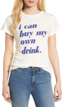 Junk Food Clothing I Can Buy My Own Drink Tee