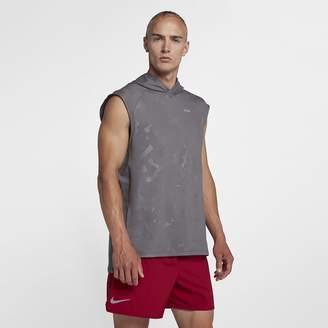 Nike Element Men's Sleeveless Running Hoodie