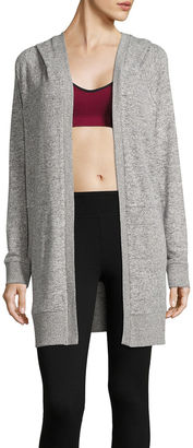 Flirtitude Long Sleeve Cardigan- Juniors $34 thestylecure.com
