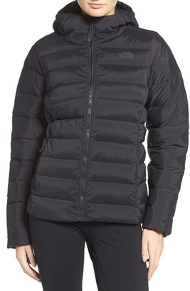 Women's The North Face W Hooded Stretch Down Jacket $249 thestylecure.com