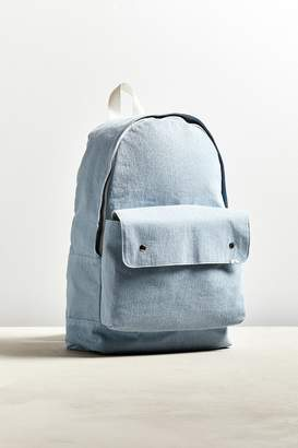 Urban Outfitters Denim Flap Pocket Backpack