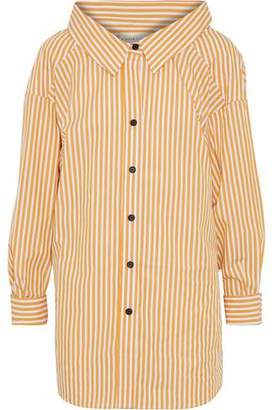 Simon Miller Tabor Striped Cotton-Poplin Shirt