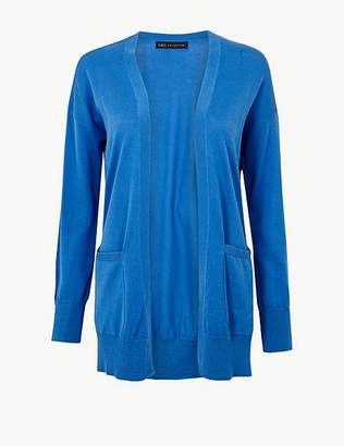Marks and Spencer Pure Cotton Open Front Cardigan