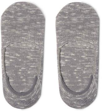 Nonnative Dweller Ribbed Cotton-Blend No-Show Socks