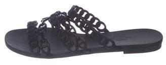 Hermes Rubber Slide Sandals