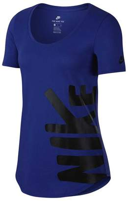Nike Womens Sportswear Tee Purple XS Adult