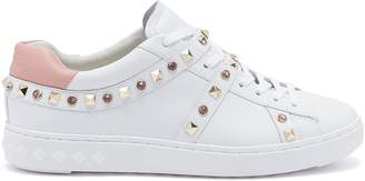 Ash 67947 'Play S' strass stud leather sneakers