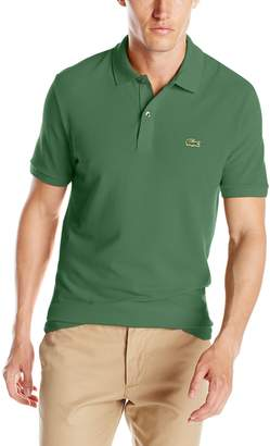 Lacoste Men's Short Sleeve Classic Pique Slim Fit Polo Shirt