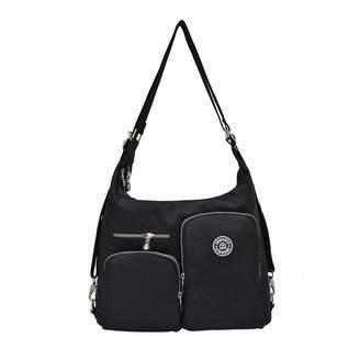 552273f044c8 TEEGUI Nylon Bag Shoulder Bag Multi-Pocket Crossbody Bag