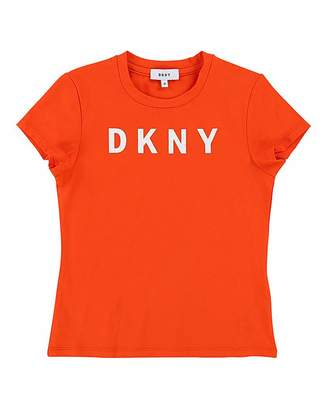 DKNY Girls Logo Tee