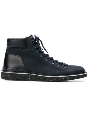 Hogan Men's Hxm3920z490jif0xd5 Leather Ankle Boots