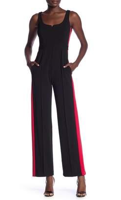 Donna Morgan Side Stripe Jumpsuit