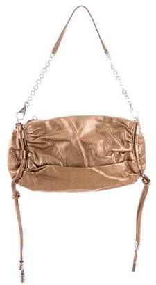 Dolce & Gabbana Metallic Gathered Bag