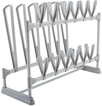 Simplify Standing 9-Pair Shoe & Boot Rack Organizer