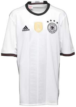adidas Junior Boys DFB Germany Home Shirt White/Black