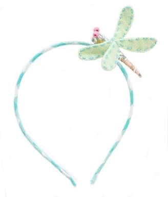 Everbloom Dragonfly Headband Green