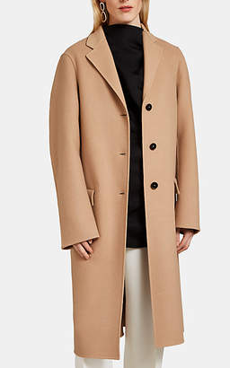 Jil Sander Women's Double-Faced Cashmere Coat - Camel