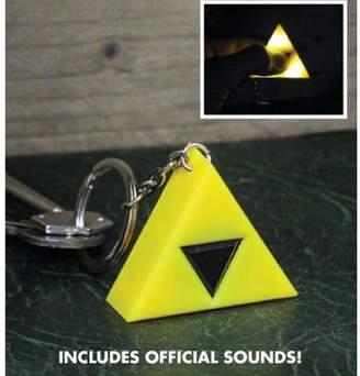 Officially Licensed The Legend of Zelda Tri-Force LED Light-Up Keyring