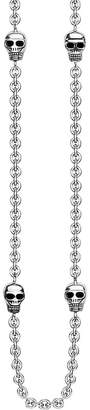 Thomas Sabo Rebel at Heart mini skull sterling silver chain necklace